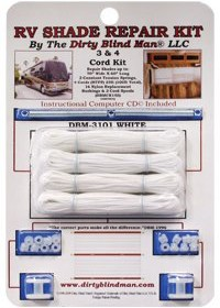 4 Cord RV Shade Repair Kit, White | RV Awnings Store